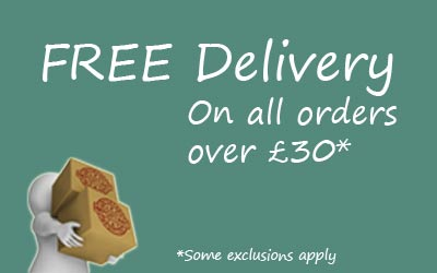 FREE Delivery on orders over £30