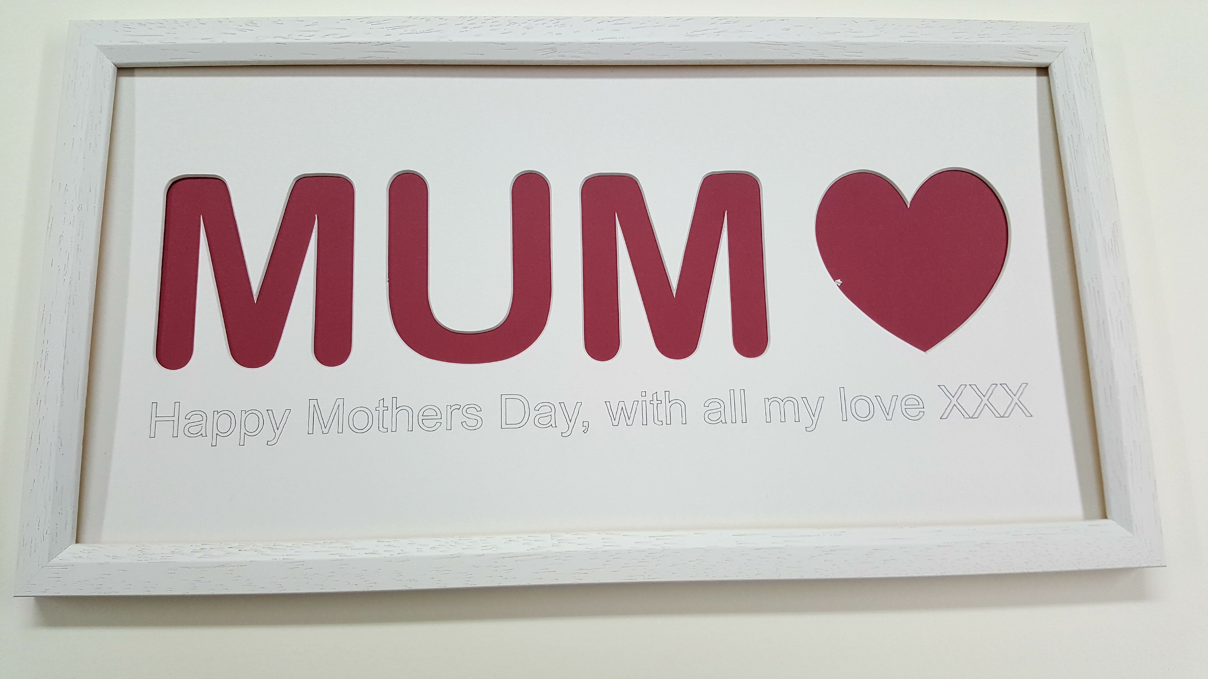 Mother\'s Day Frame & Mount / The Wall Space Picture Frames Blog